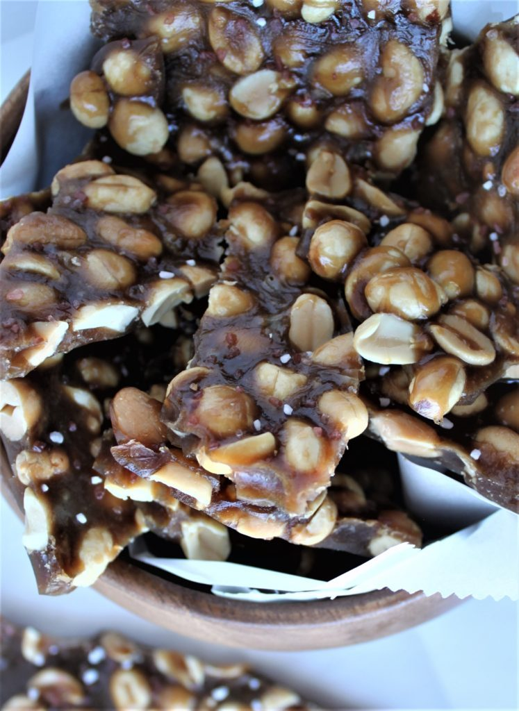 Beer Peanut Brittle (Hard Candy and Stout)