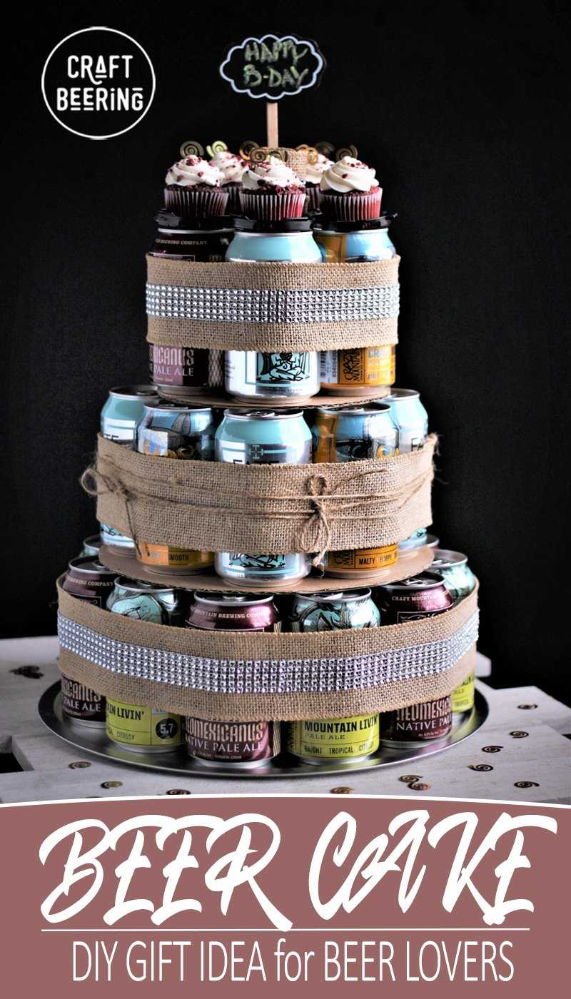 beer cake ideas make an awesome craft cake in 5 minutes using cans 1631