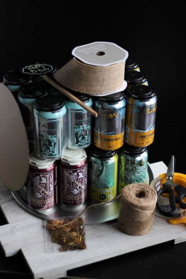 Craft beer cake supplies