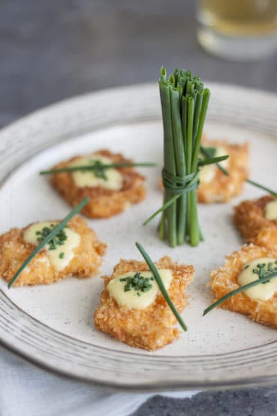 Paprika Panko Crusted Feta Cheese Bites (A Spring Time Beer Pairing)