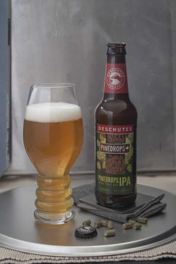 British IPA vs. American IPA Deschutes Pine Drops IPA, an example of Pacific West Coast IPA