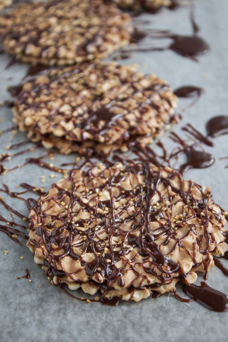 Chocolate Porter Pizzelles!