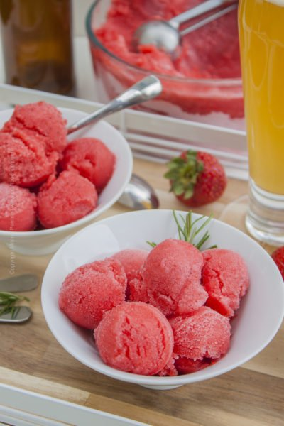 Summer Blonde Strawberry Sorbet