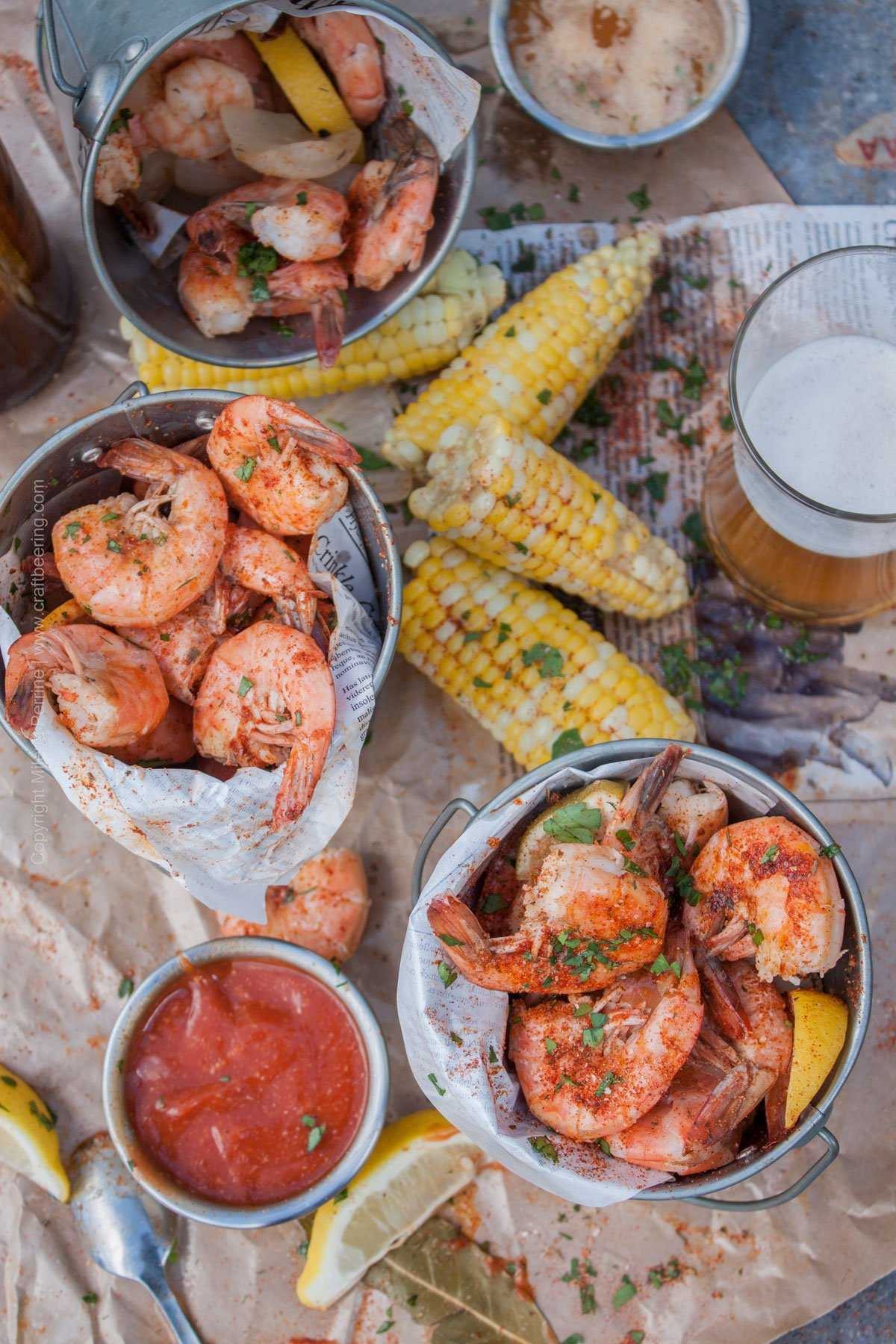 Shrimp recipe for beer: a delicious seafood appetizer