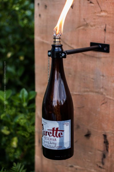 Beer Bottle Tiki Torches