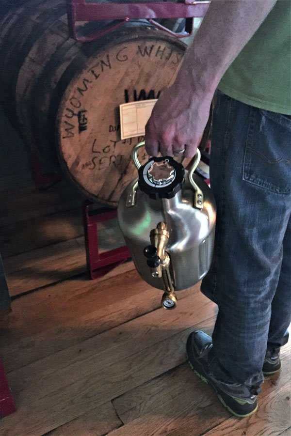 uKeg Pressurized Growler. Fill it up with a limited edition oak barrel aged brew.