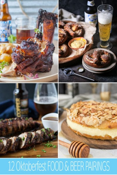 12 Oktoberfest Food and Beer Pairings