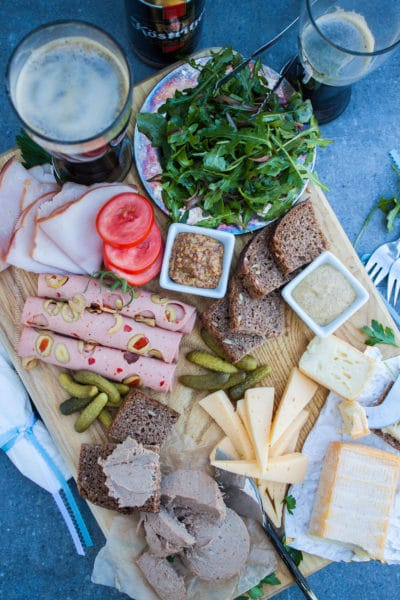 German Meat and Cheese Board