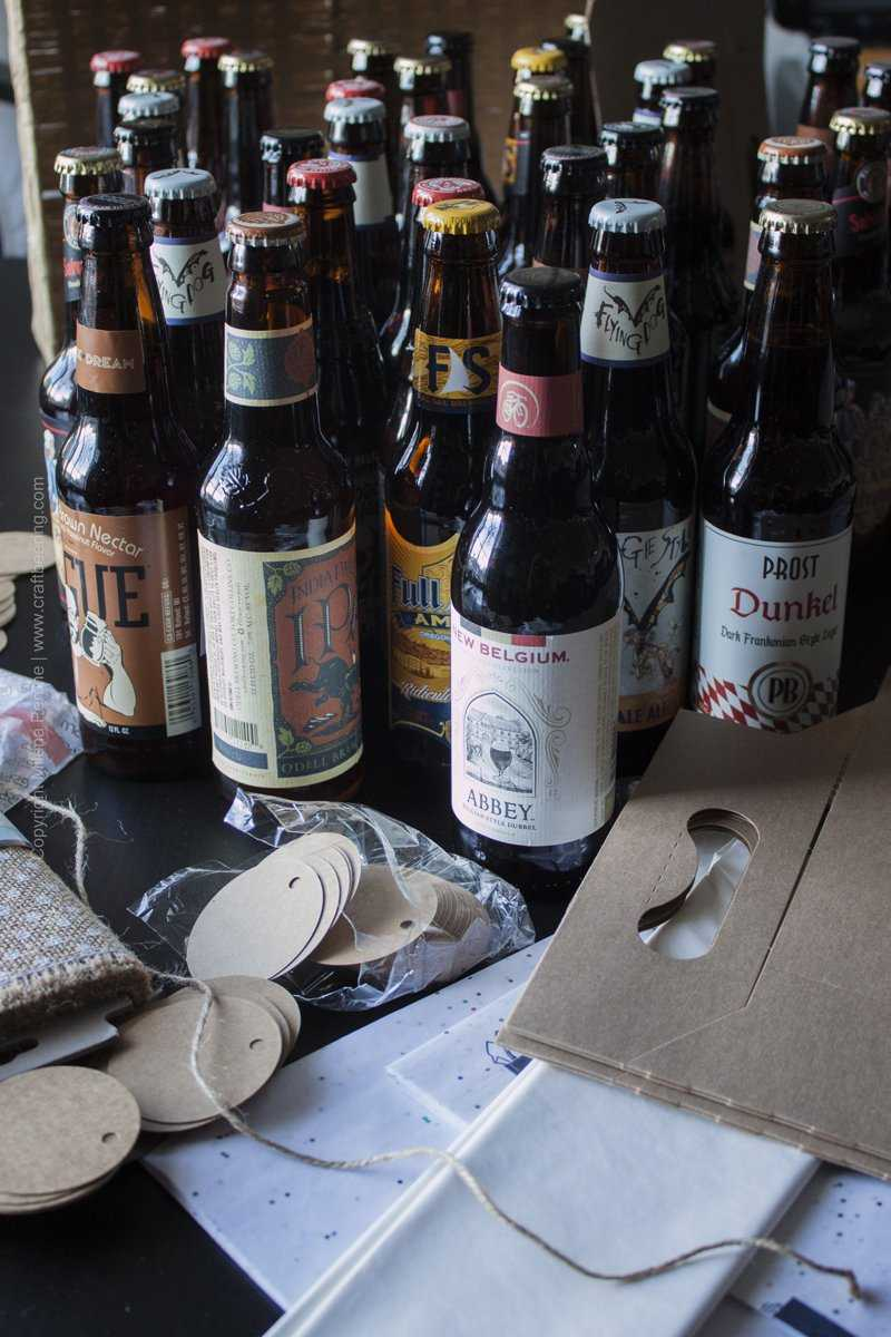 Diy Craft Beer Advent Calendar Aka A Great Excuse To Drink Beer Daily