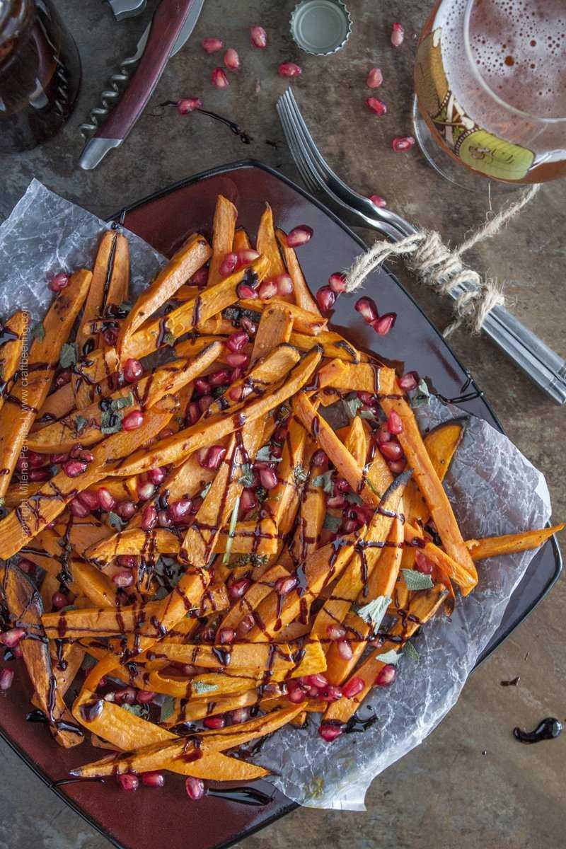 Saison butter sweet potato fries #saisonbutter #buttersweetpotatoes #roastedsweetpotatofries