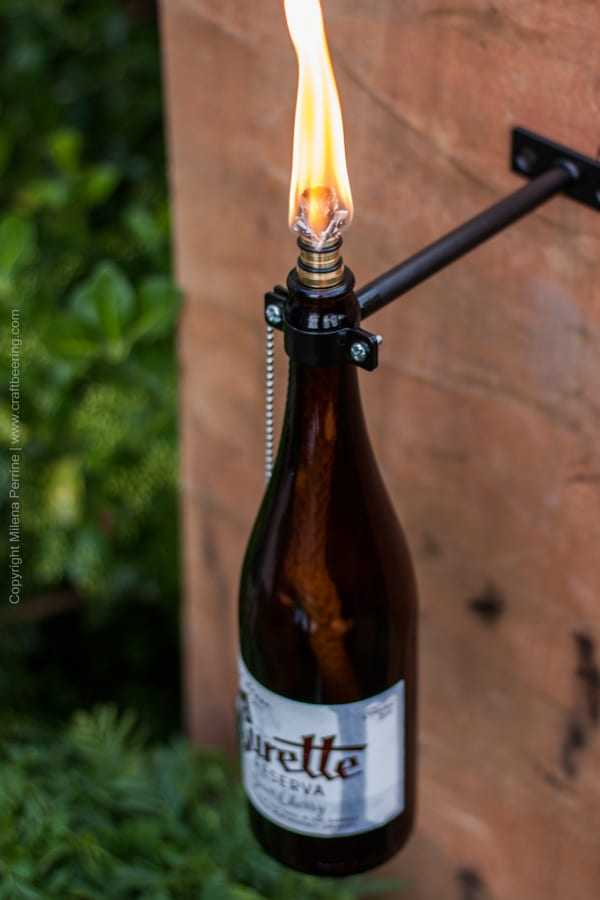 Beer Bottle Tiki Torch, a unique gift for beer lovers