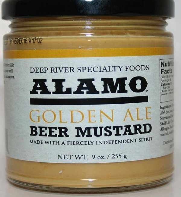 Unique gift for beer lovers. Beer mustard