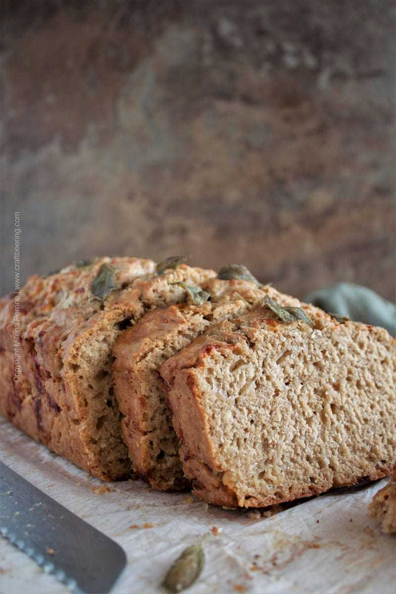 The best porter beer bread recipe (with cheese and extra butter)