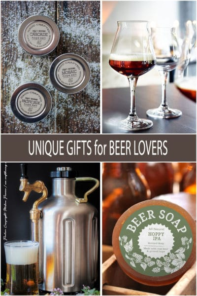 Unique Gifts for Beer Lovers