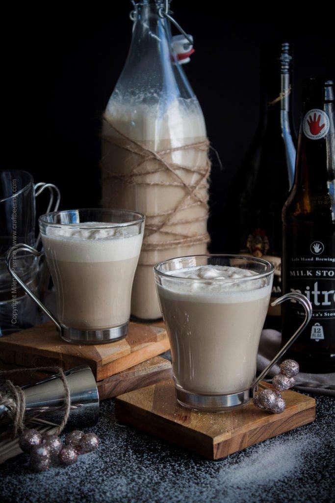 Nitro Stout & Irish Cream Eggnog