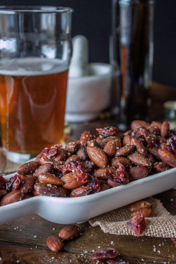 Hops Salted Roasted Almonds & Dried Cranberries