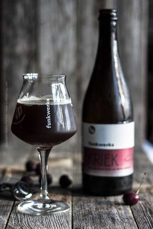 Kriek ale is perfect for making mulled beer.