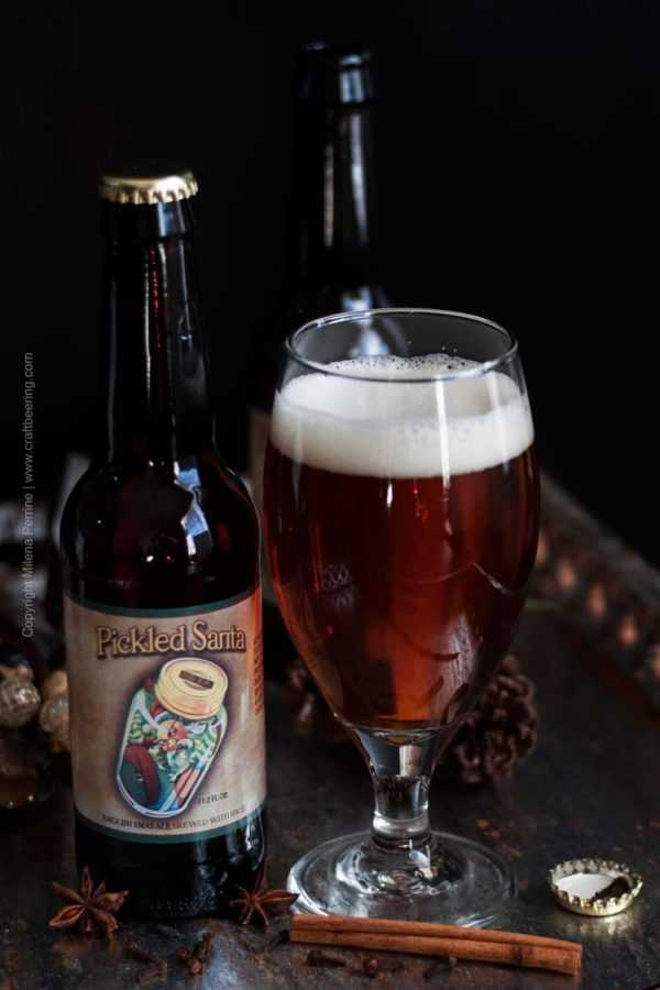 Mulled ale (this English Christmas ale with spices makes an excellent base)