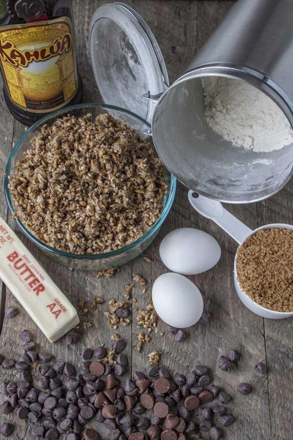 Spent grain cookies ingredients #spentgraincookies