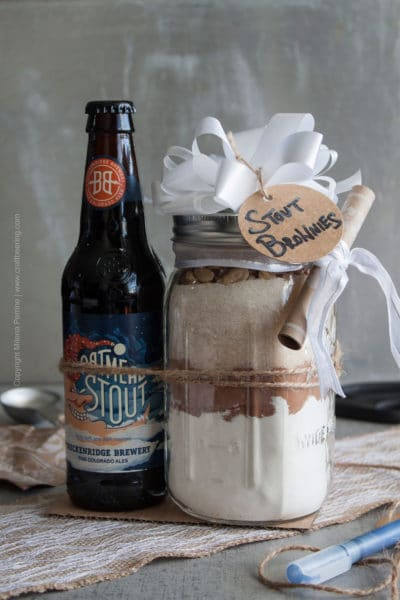 Stout Brownie Mix DIY Gift