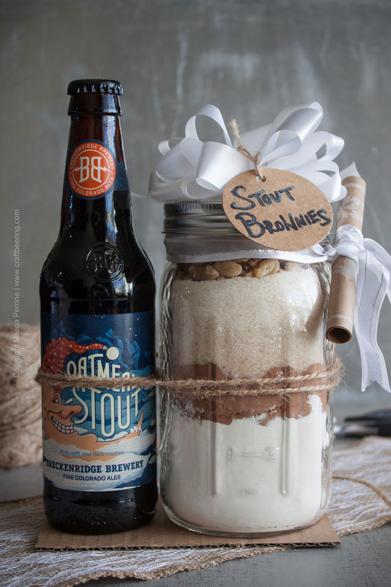 DIY Stout Brownie Mix Gift