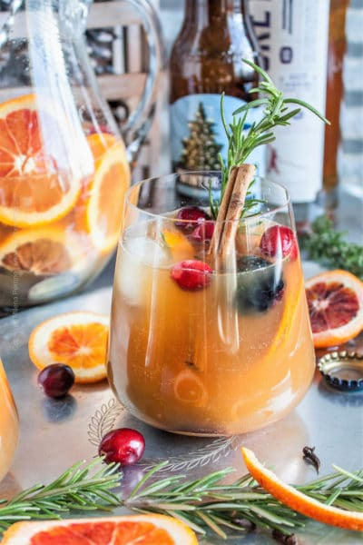 Winter Beer Sangria