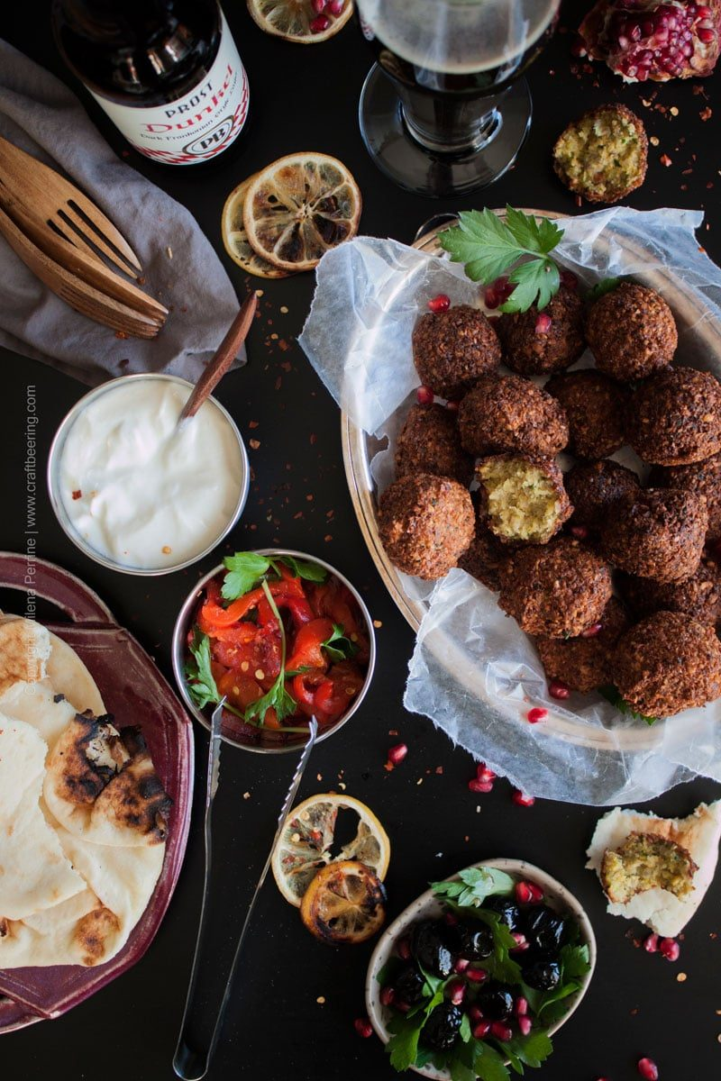 Beer falafel made from scratch. Reviving dried chick peas and infusing them with malty flavors simultaneously. #falafel #beerfalafel #falafelrecipe