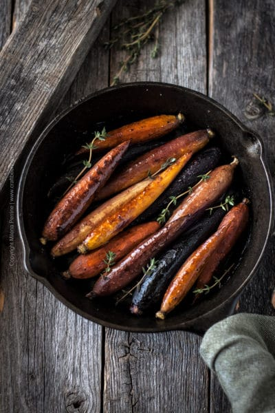Beersamic Roasted Carrots