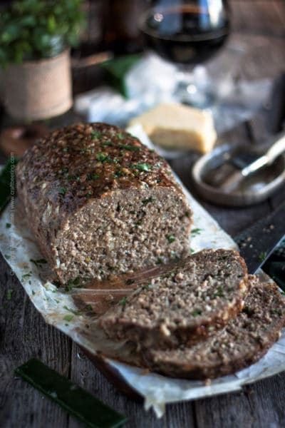 Stout Meatloaf with Irish Cheddar