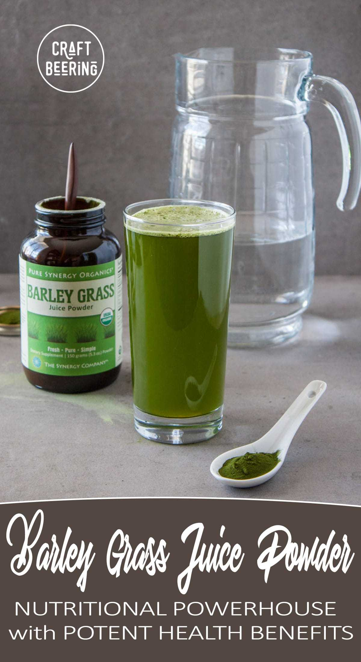 Barley Grass Juice Powder Health Benefits. A glassful of barley grass juice powder contains too many beneficial phytonutrients to list (= good for you:) #barleygrass #barleygrassjuicepowder #juicepowder