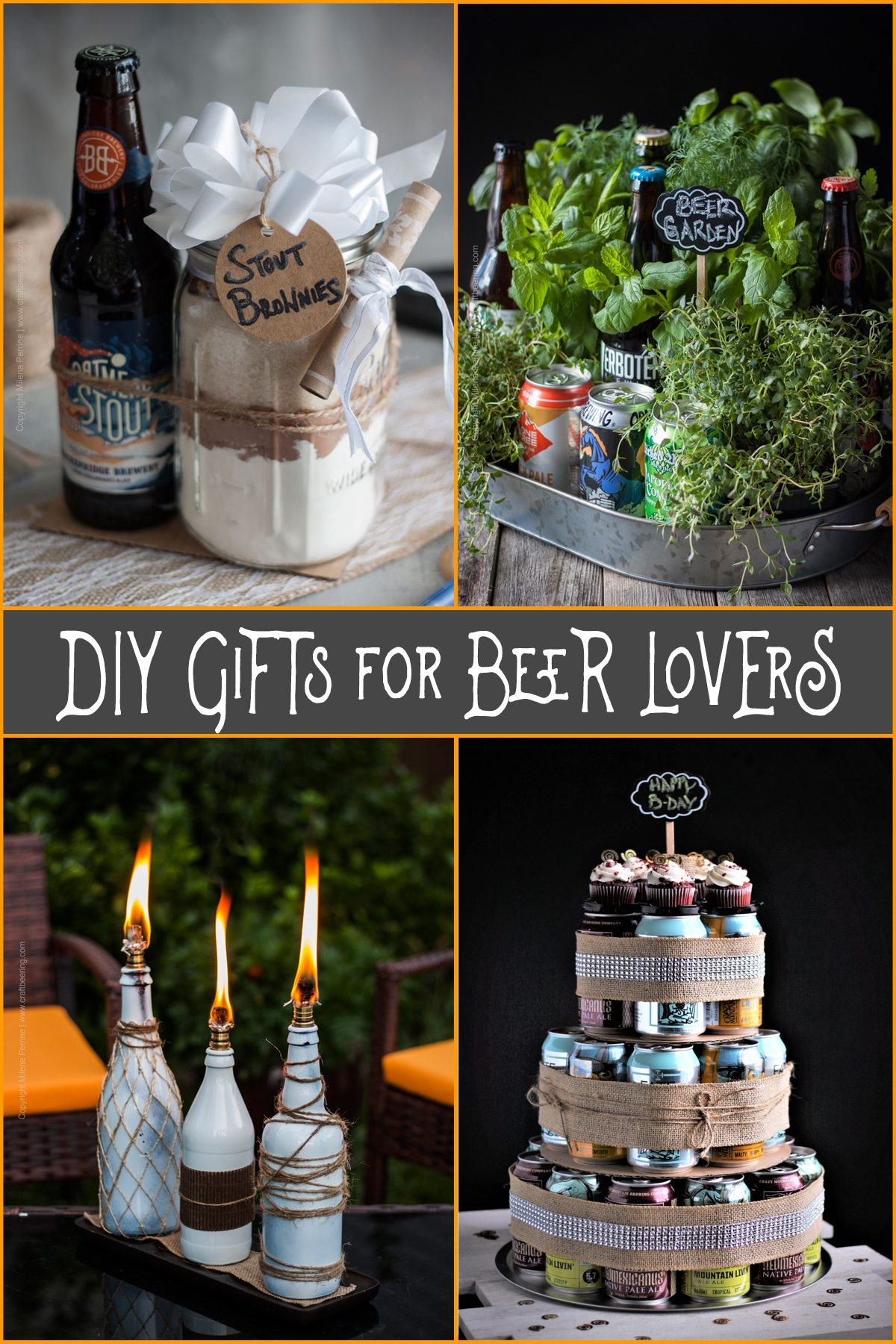 Diy gifts for beer lovers a round of creative ideas diy gifts for beer lovers beer themed gifts you can make that they will love solutioingenieria Images