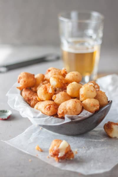 Beer Battered Fried Cheese Curds