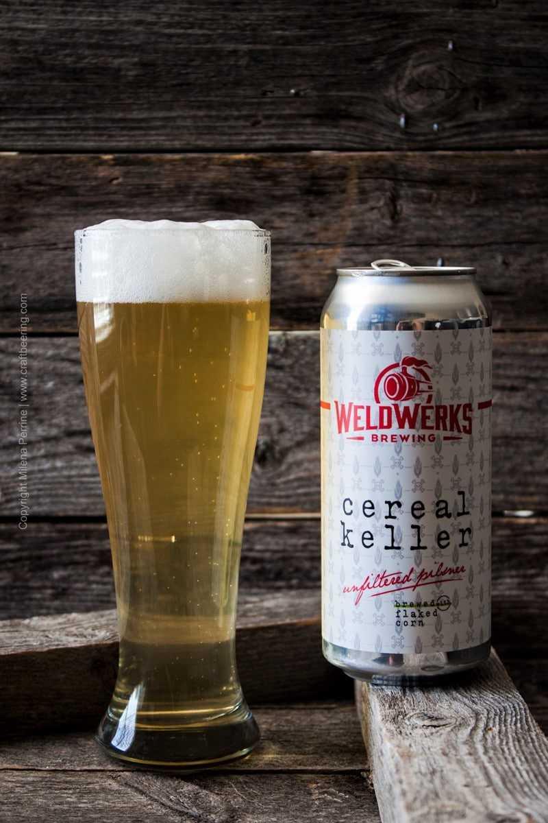 Unfiltered Pilsner. Cereal Keller  WeldWerks Brewing