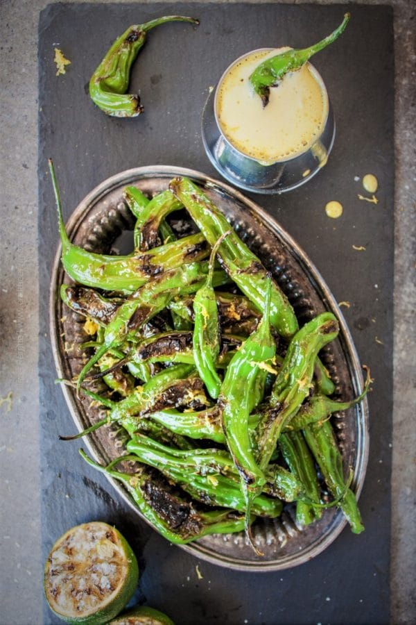 Hops Salted Blistered Shishitos