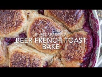 Altbier French Toast Bake